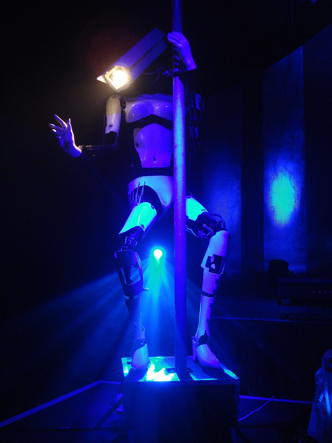 Giles Walker - Pole-dancing Robots